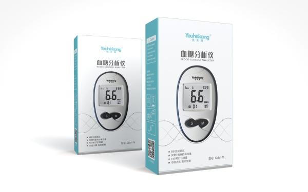 血糖仪包装设计