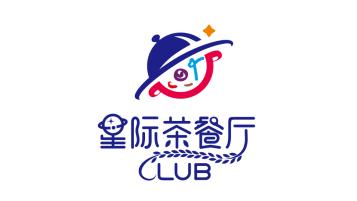 星际餐饮clubLOGO设计