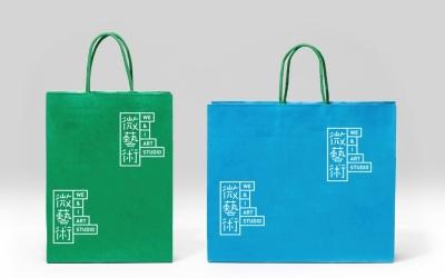微艺术工作室logo设计