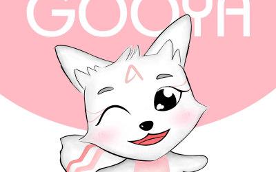 GOOYA化妆品卡通形象设计