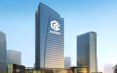 启城建筑工程logo设计