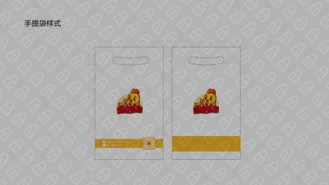 鲜味仙 (仙庙烧鸡)包装设计入围方案2