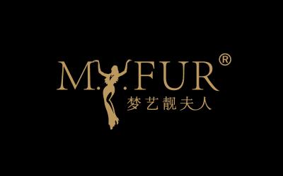 梦艺靓夫人品牌logo设计