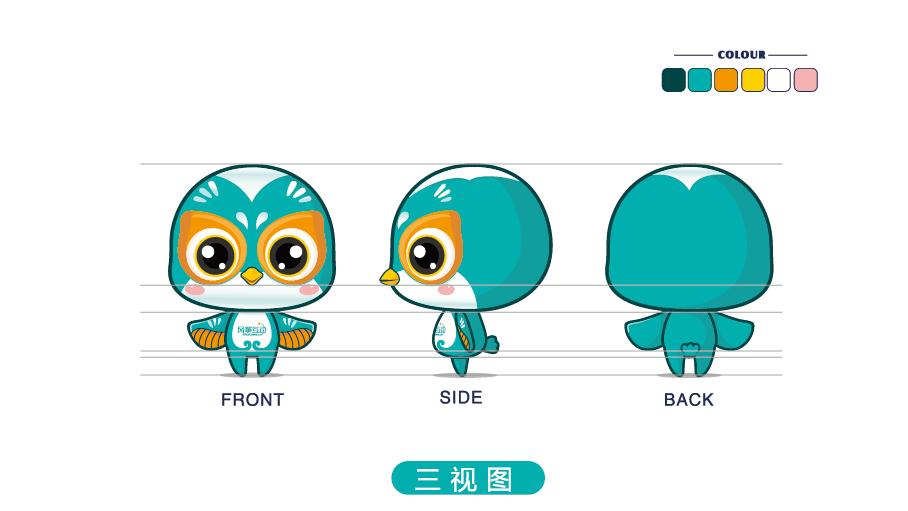 风筝互动吉祥物设计中标图1
