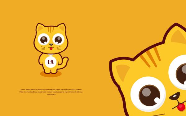 Leshi小乐猫卡通设计