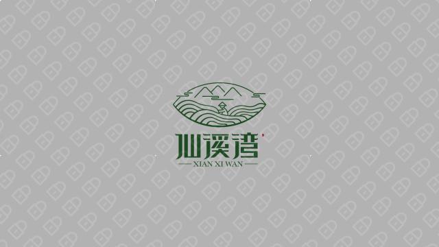 仙溪湾品牌LOGO设计入围方案6