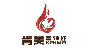 肯美香辣蝦LOGO設計