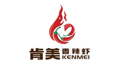 肯美香辣虾LOGO设计