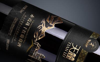 西夏王红酒包装—天麓系列