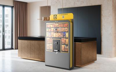 共享零食柜设计-自助贩卖机工业...