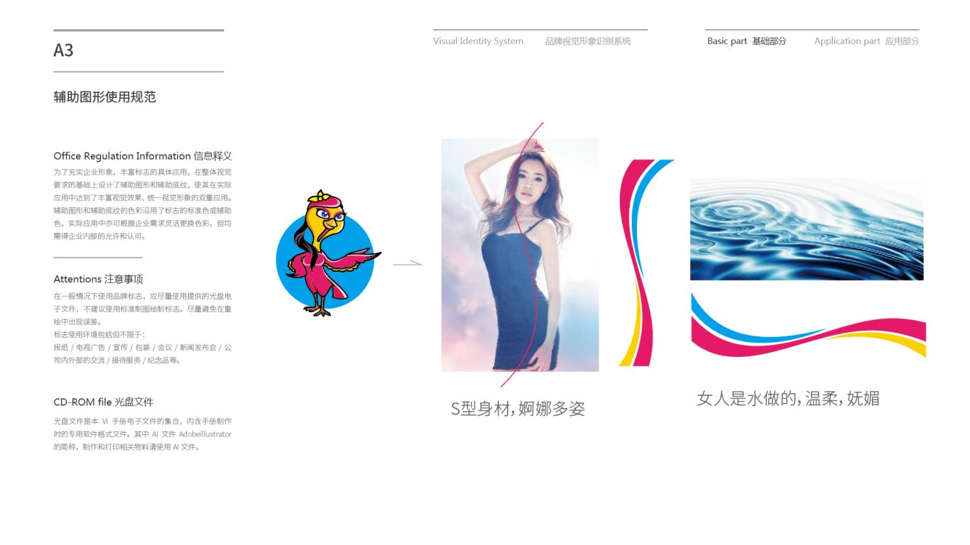 火鸡姑娘VI设计中标图6