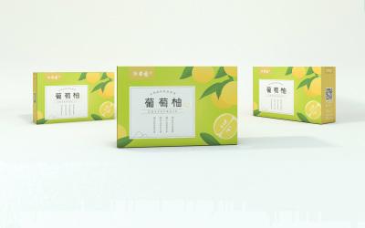 邵果瑶葡萄柚包装设计
