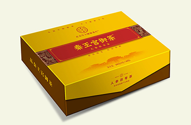 秦王宫御茶包装