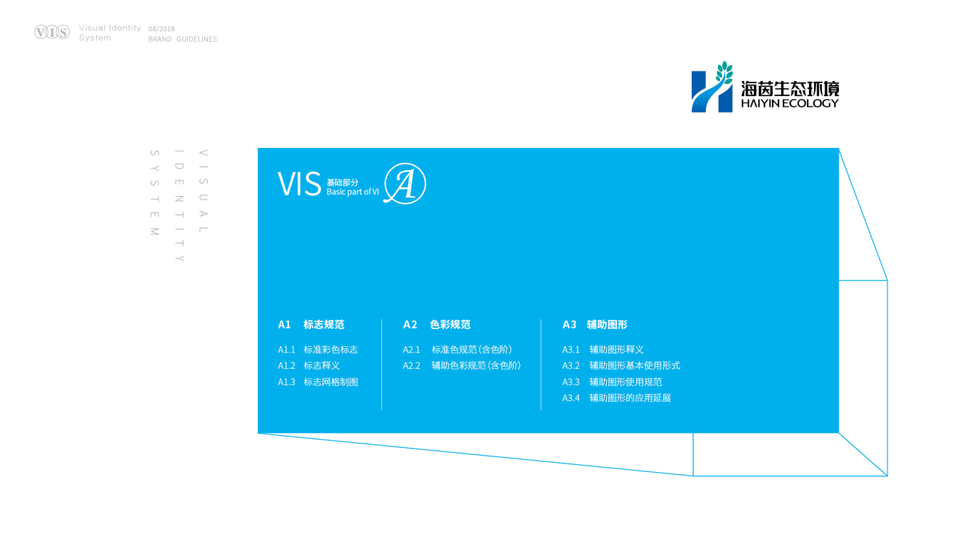 广东海茵生态环境VI设计中标图1