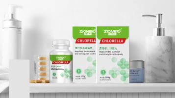 藻碧康藥品品牌包裝設計