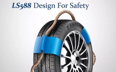 路航轮胎创意海报