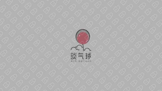 淡气球LOGO设计入围方案3