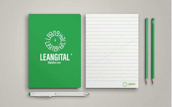 Leangital logo 設計