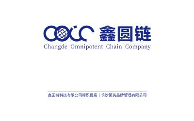 鑫圆链科技有限公司LOGO提案