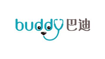 Buddy 巴迪LOGO设计