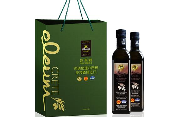 欧莱姆橄榄油包装设计
