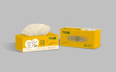 明月山纸巾包装