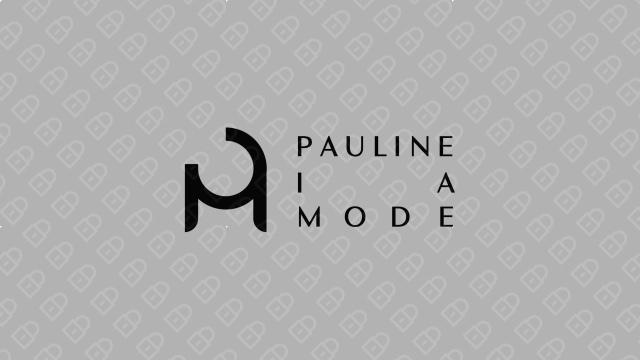 Pauline la Mode LOGO设计入围方案3