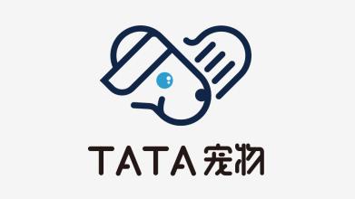 TATA寵物LOGO設計