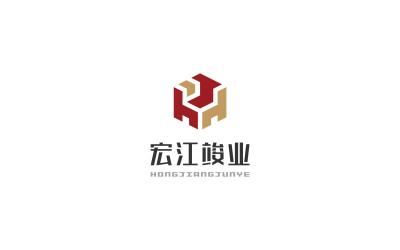 宏江竣业LOGO设计