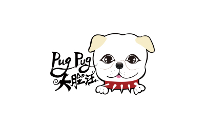大脸汪logo