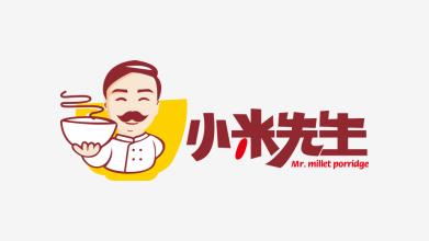 小米先生LOGO设计