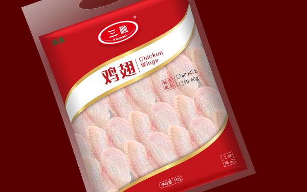 鸡翅包装 农产品包装 食品包装