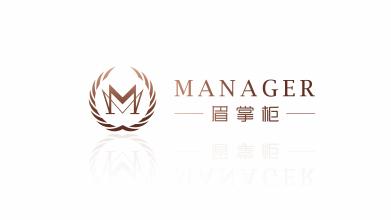 眉掌柜logo設計