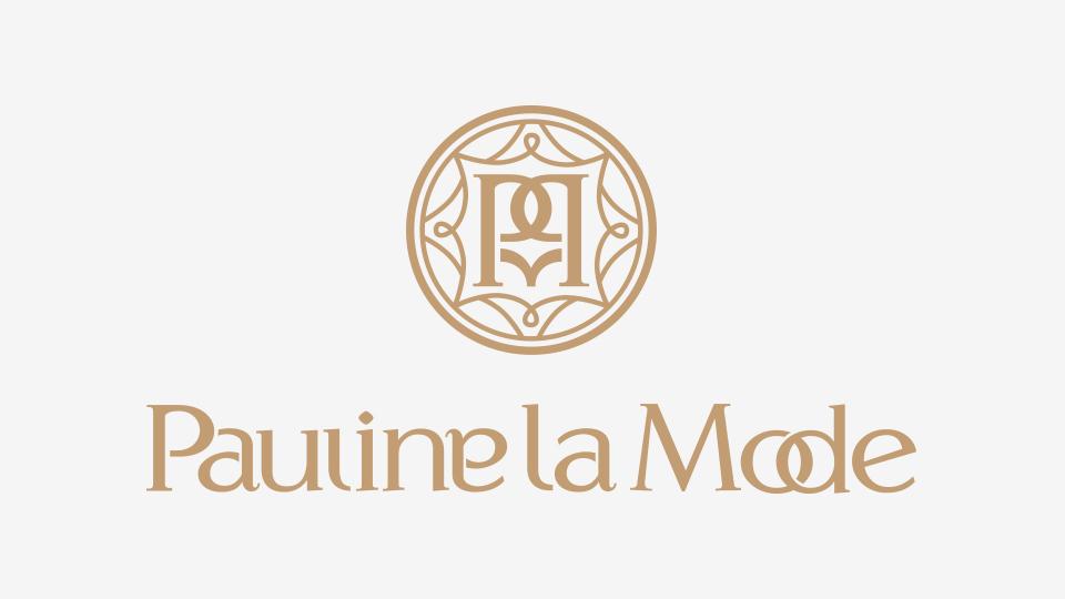 Pauline la Mode LOGO设计