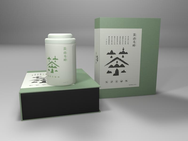 徽茶品牌,茶叶包装设计,茶包主视觉设计图3