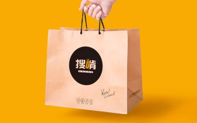 搜啃炸鸡店VI设计