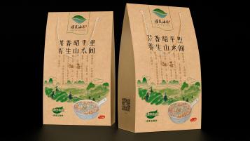 广西昭平百岁产品包装设计