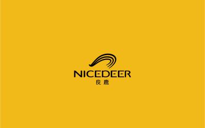 良鹿服裝品牌logo設計