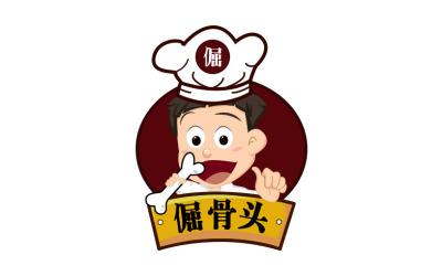 倔骨头logo