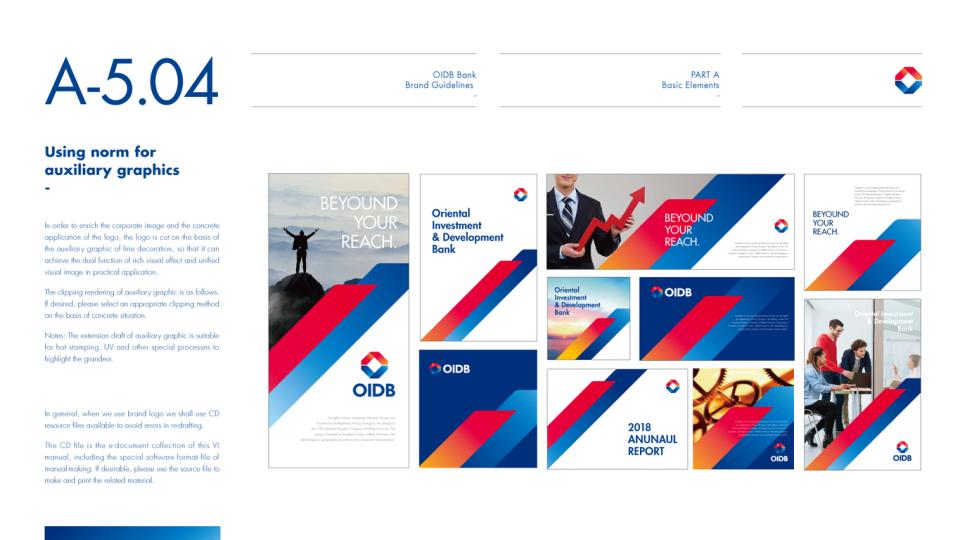 東方投資發展銀行VI設計