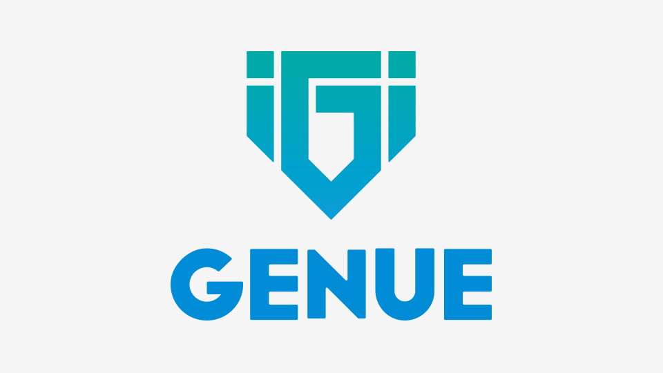 GENUE LOGO设计