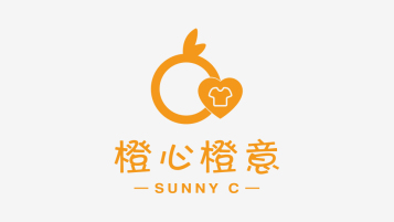 橙心橙意LOGO設計
