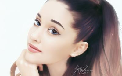 转手绘Ariana Grande