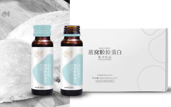 养怡仙 logo 包装设计