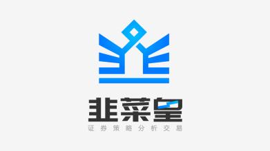 韭菜皇LOGO設計