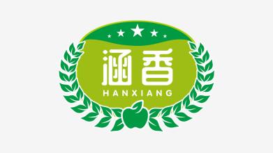 涵香品牌logo设计
