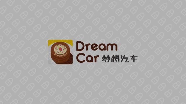 梦想汽车品牌LOGO设计 入围方案1