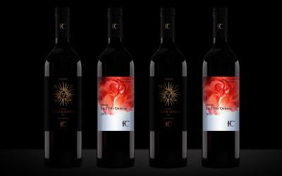 酒侬花堡红酒 · 包装设计