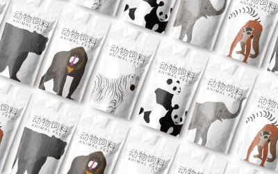 碧峰峡野生动物园视觉识别设计