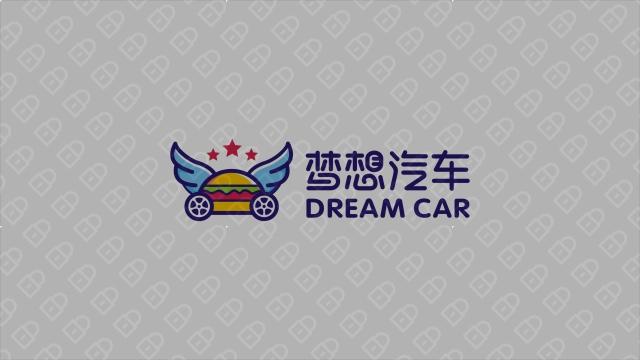 梦想汽车品牌LOGO设计 入围方案6